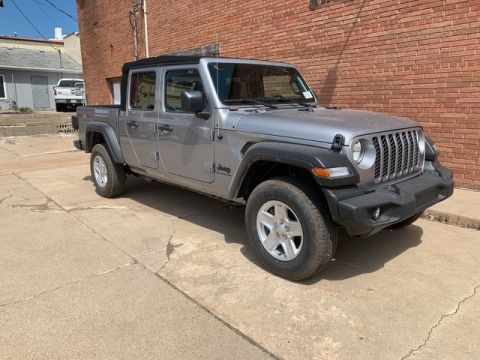 New 2020 JEEP Gladiator Sport S 4x4 Crew Cab