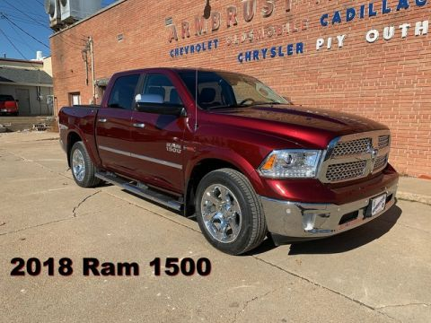 Pre-Owned 2018 Ram 1500 Laramie Four Wheel Drive Short Bed