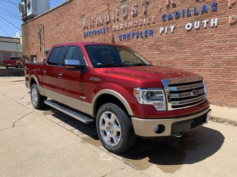 Pre-Owned 2013 Ford F-150 Lariat Four Wheel Drive Pickup Truck