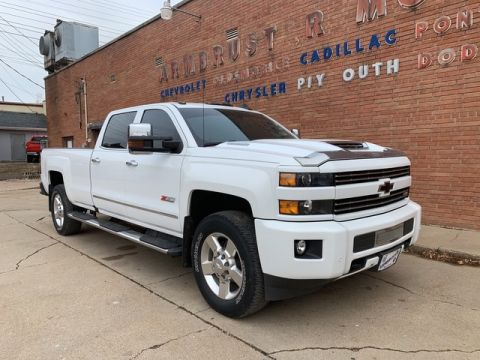Pre-Owned 2018 Chevrolet Silverado 3500HD LTZ Four Wheel Drive Long Bed