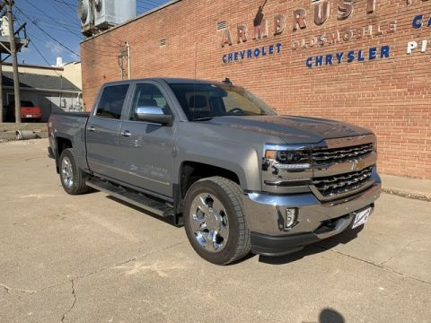 Pre-Owned 2017 Chevrolet Silverado 1500 LTZ Four Wheel Drive Short Bed